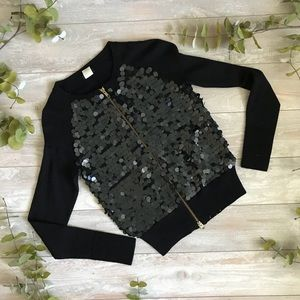 J. Crew Sequin Jacket